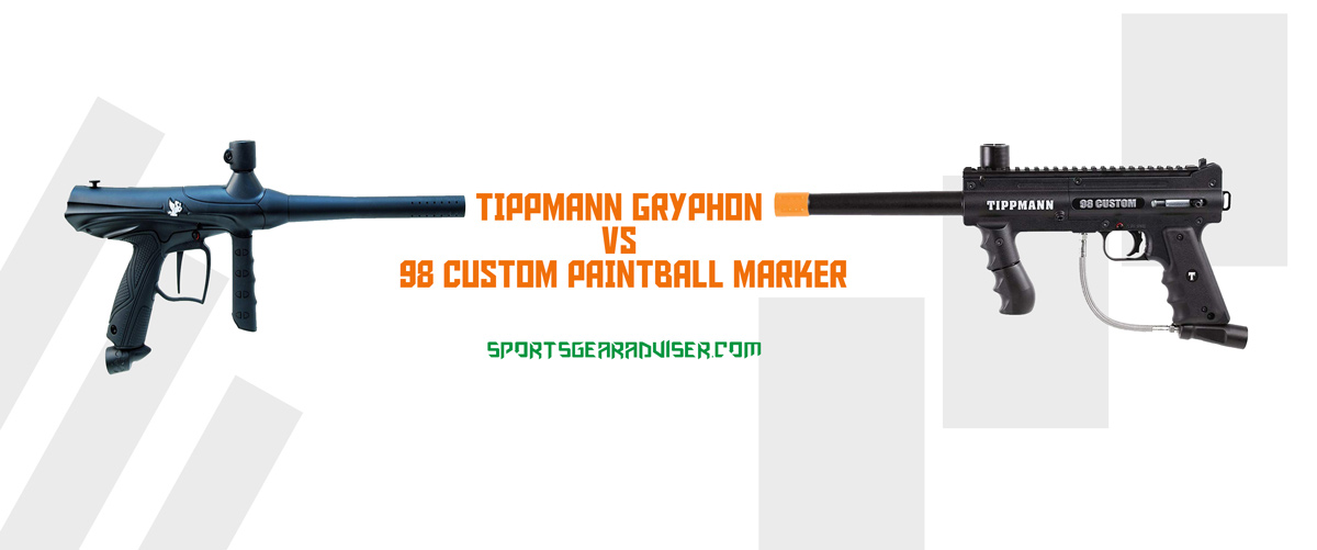 Tippmann-Gryphon-Vs-98-Custom-Paintball-Marker